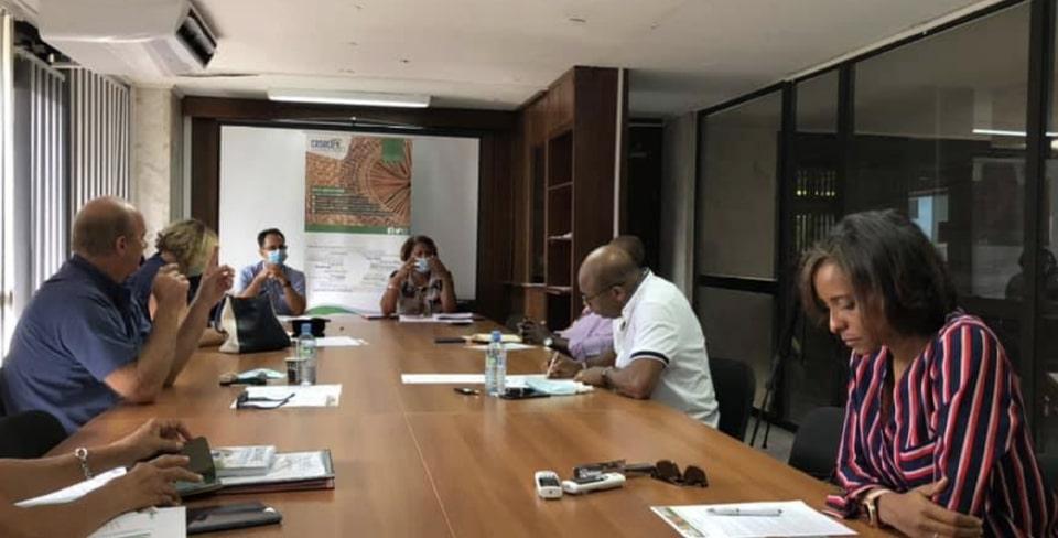 Réunion du Bureau du CESECE Guyane